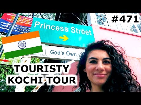 TOURISTY KOCHI TOUR | KOCHI DAY 471 | INDIA | TRAVEL VLOG IV