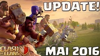 EIN NEUES UPDATE! || CLASH OF CLANS || Let's Play CoC [Deutsch/German HD+]