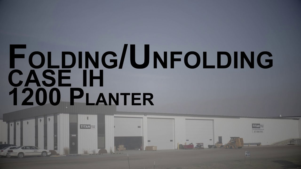 Case Planter Wiring Diagram Everything About Tractor Diagrams How To Unfold And Fold A Ih 1200 Youtube Rh Com 1494 Schematic