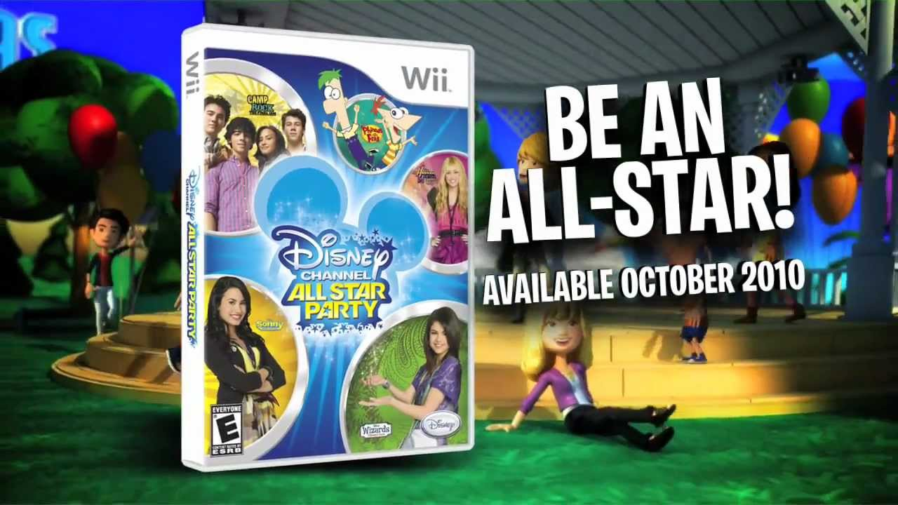 Disney channel all star party wii trailer youtube publicscrutiny Image collections
