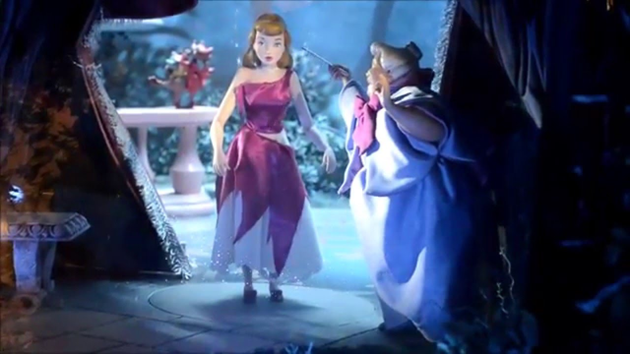 Cinderella Dress Transformation - YouTube