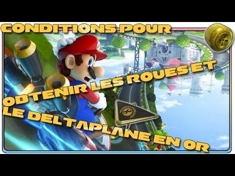 Mario kart 8 comment obtenir les roues et le deltaplane - Mario kart wii personnages et vehicules ...