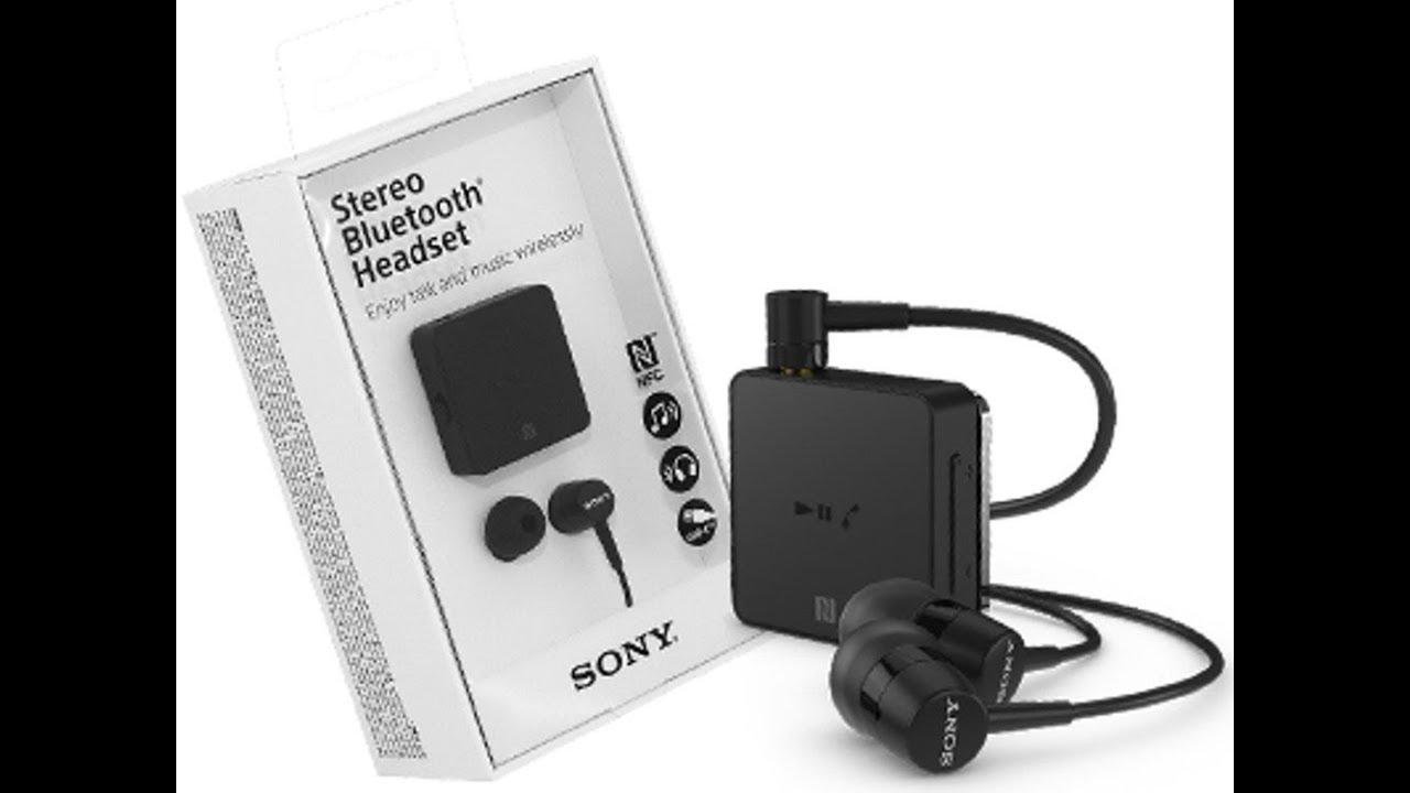Sony Bluetooth Headset Sbh24 Youtube