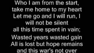 Shattered - Trading Yesterday - lyrics