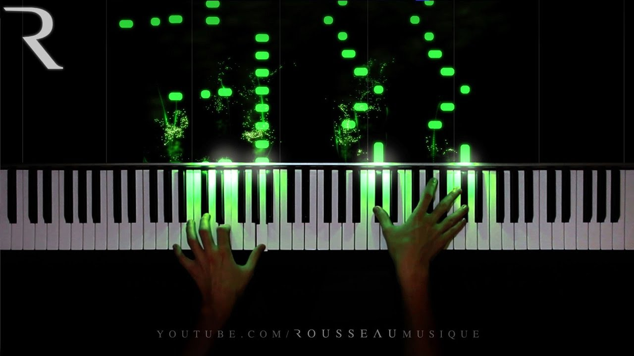 Classical piano music comes alive with light visualizations | The