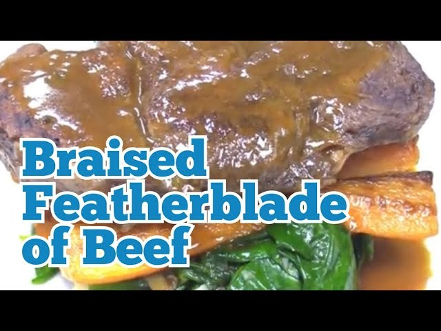 KITCHEN CRAFT -  Braised Featherblade of Beef