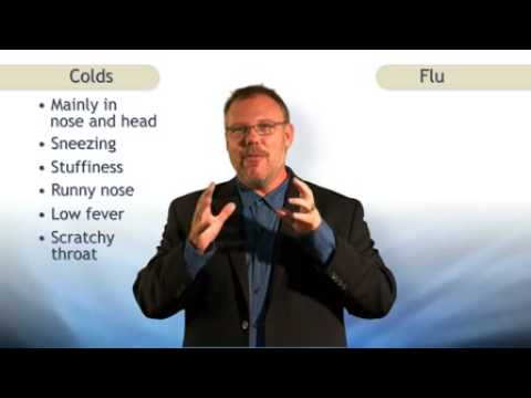 Cold vs Flu - How to tell if you have a cold, flu, swine flu etc.