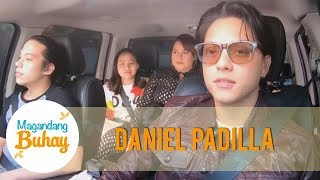 Magandang Buhay: Daniel Padilla drives for his mother for the first time