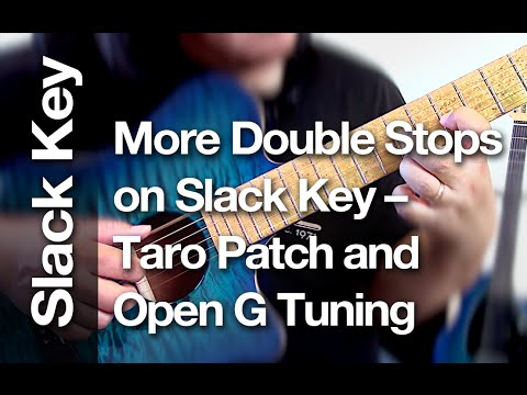 Taro patch tuning chords for acoustic guitar