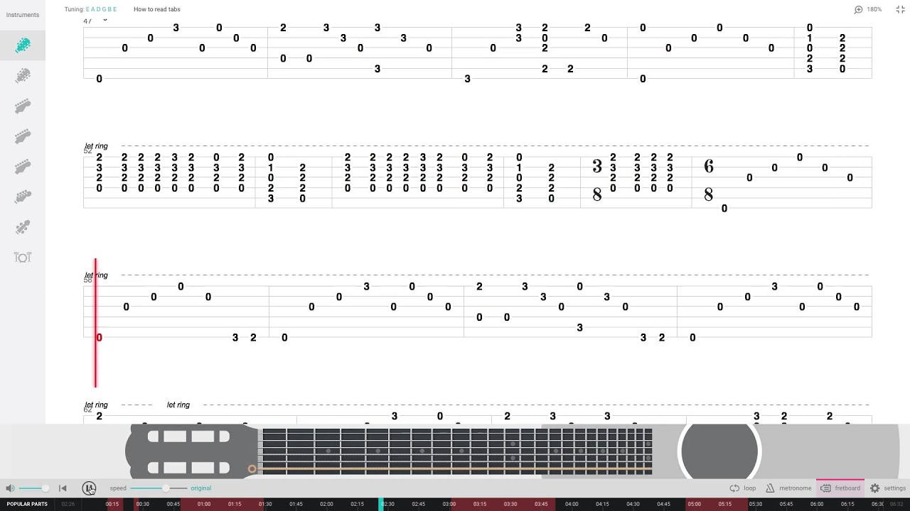Nothing Else Matters By Metallica Free Acoustic Guitar Tab Youtube