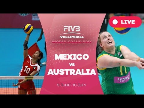 Mexico v Australia - Group 3: 2016 FIVB Volleyball World Grand Prix