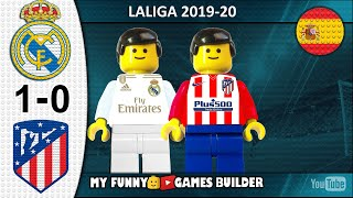 Real Madrid vs Atletico Madrid 1 0 LaLiga 2019 20 Resumen 2020 All Goal Highlights Lego Football