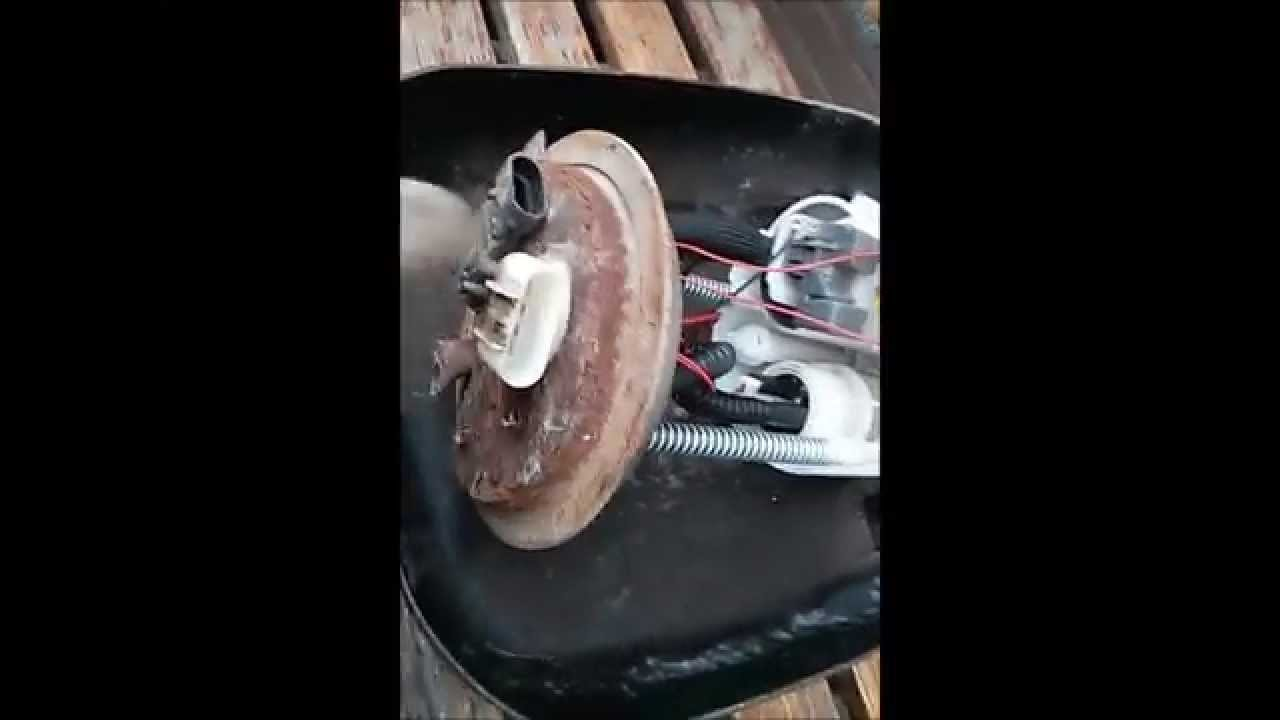 2004 Chevy Avalanche Fuel Pump Replacement  YouTube