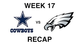 dallas cowboys vs philadelphia eagles recap