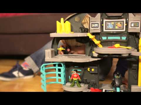 Fisher-Price® Presents: New Imaginext® Batcave