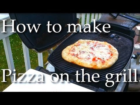 How To Make Pizza On The Grill - Easy And Delicious