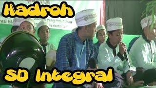 Hadroh / Rebana Anak-anak SD Integral Luqman Al-Hakim Bojonegoro Acara Pelapasan Kelas 6