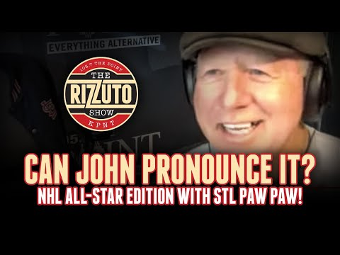 Can John Pronounce It? NHL All-Star Edition [Rizzuto Show]