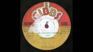 12'' Dennis Brown - Man Next Door (& Dub)