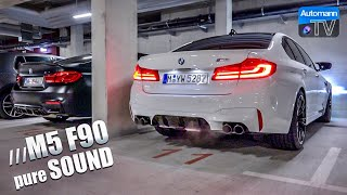 2018 BMW M5 F90 (600hp) - pure SOUND!