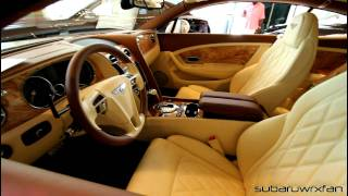 New Bentley Continental GT with Interesting Interior!