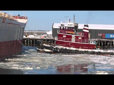 Portland Harbor on Ice