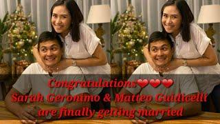 Sarah Geronimo and Matteo Guidicelli Engaged Na