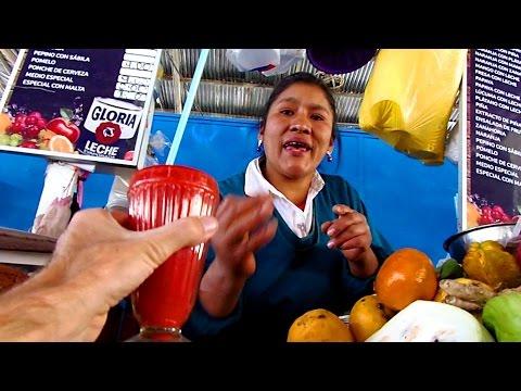 A tour of amazing San Pedro Market in CUSCO, PERU (Mercado San Pedro)
