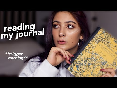 MENTAL HEALTH MONDAY ep. 2: reading my journal