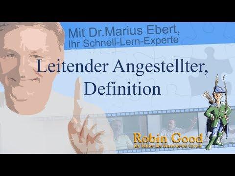 definition leitender angestellter
