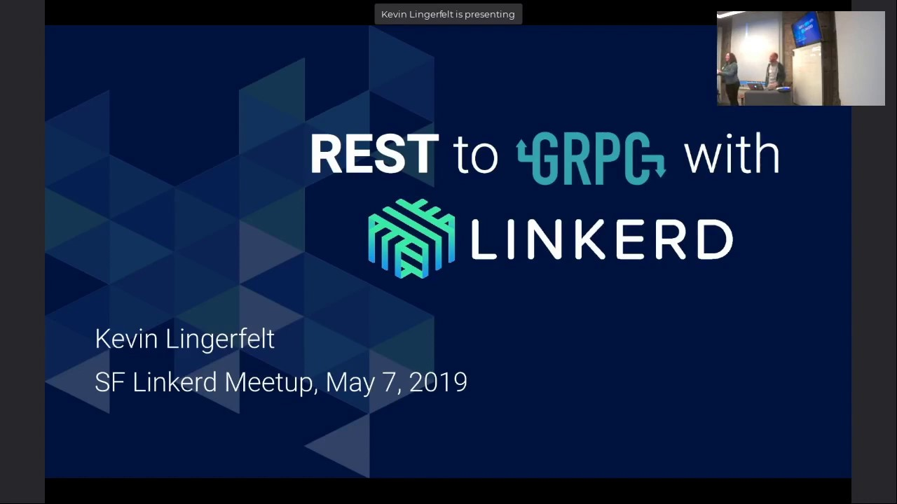 SF Linkerd Meetup - REST to gRPC with Linkerd