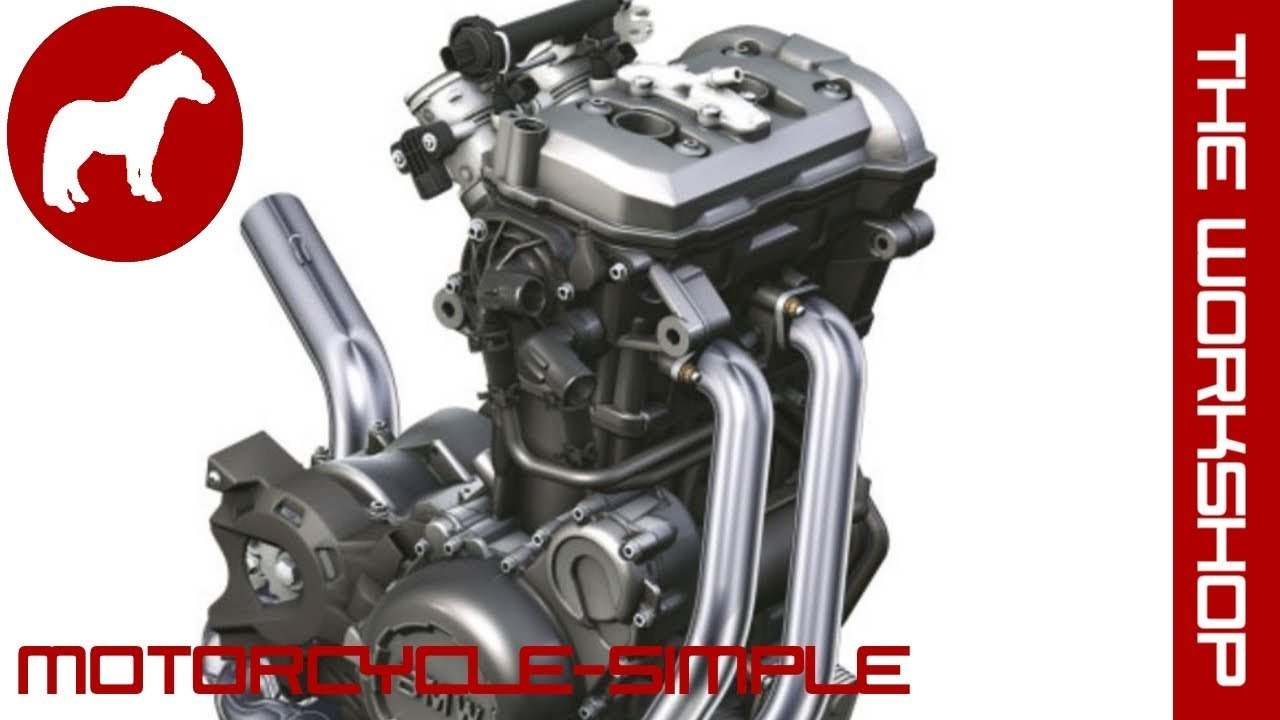 Motorcycle-simple - Parallel Cylinder Engines