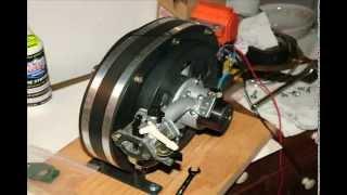 Hybrid Piston / Rotary Engine video collage