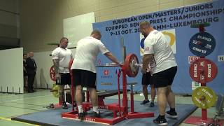 European Equipped Bench Press - Men Open   -105kg .. 120+kg