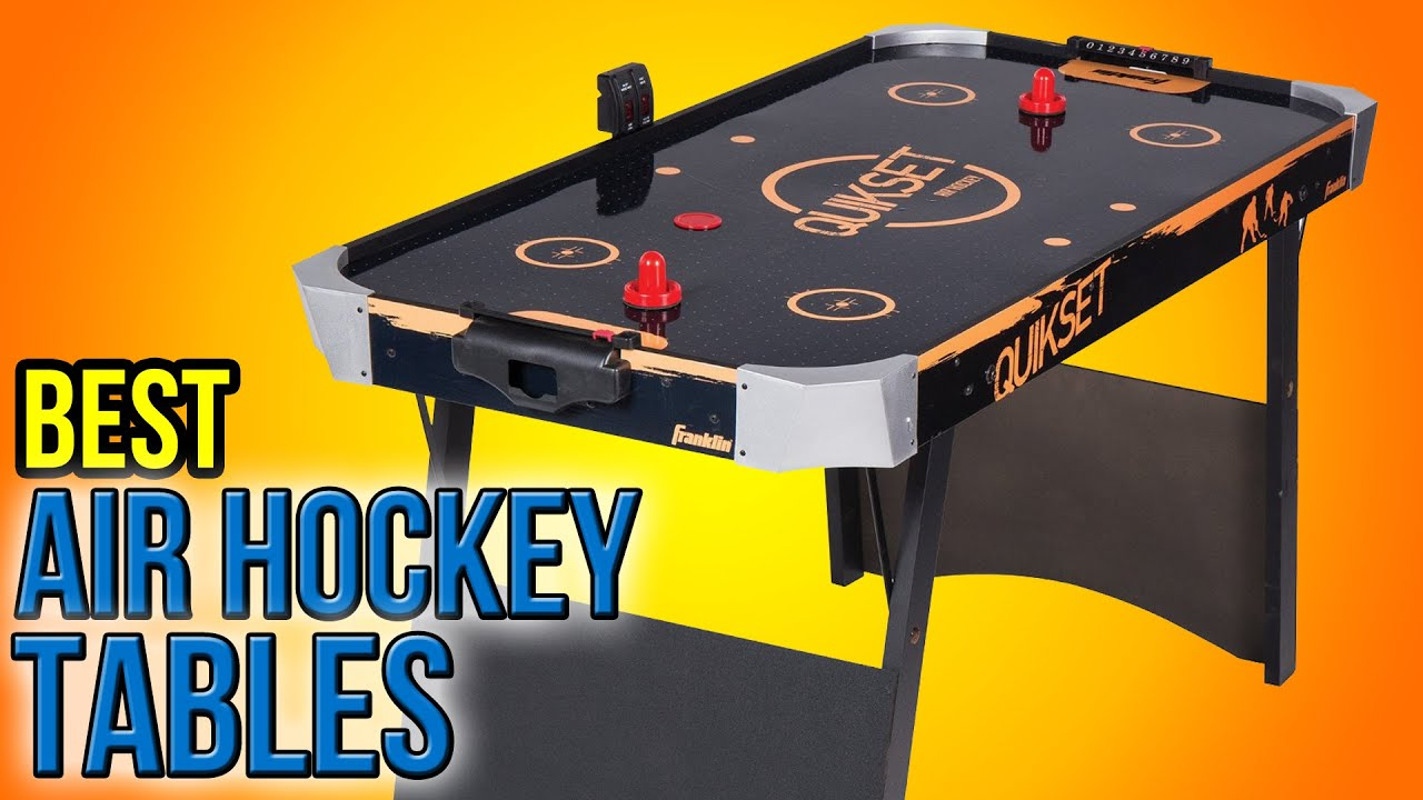 9 best air hockey tables