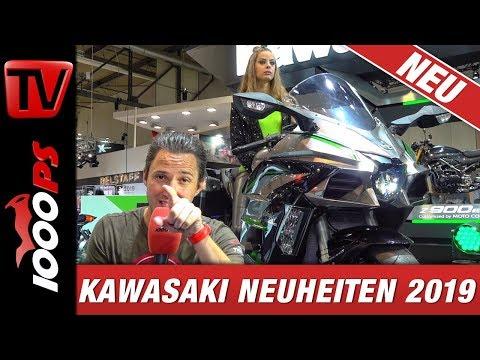 Kawasaki Neuheiten 2019 - Ninja H2 SX SE+, Versys 1000, Z400