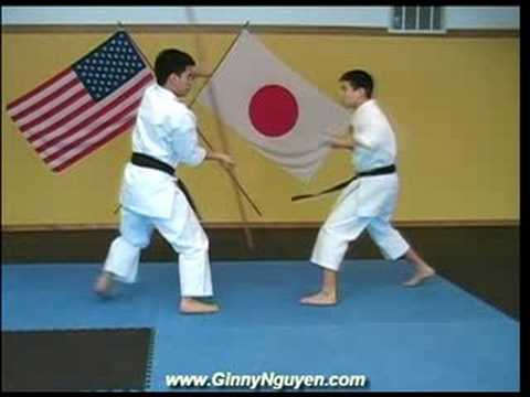 Martial Arts Weapons Training - Bo and Sai
