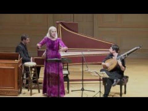 Anne Sofie von Otter, Jonathan Cohen & Thomas Dunford in Concert