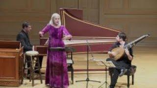 Anne Sofie von Otter, Jonathan Cohen \u0026 Thomas Dunford in Concert