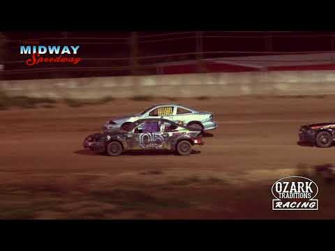 MIDWAY SPEEDWAY - HORNETS - FEATURE RACE - 8-2-19