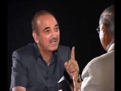 Seedhi Baat Ghulam Nabi Azad with Prabhu Chawla