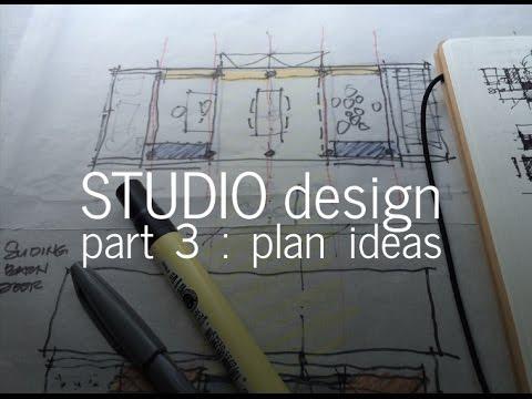 Designing a Small Studio - Part 3, Diagramming the Floor Plan