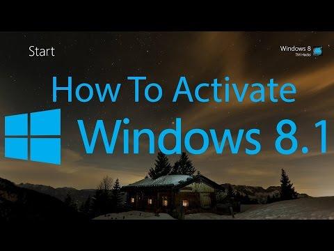 Activate Windows 8.1 Pro Preview Build...