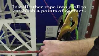 IRATA L1: Rope to Rope transfer