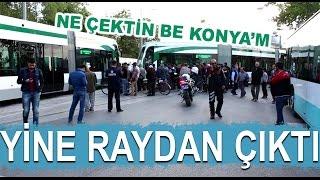 Konya'da Tramvay yine raydan çıktı! - Kanal 42 Haber Merkezi