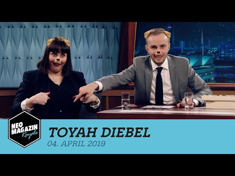 Toyah Diebel zu Gast im Neo Magazin Royale mit Jan Böhmermann - ZDFneo