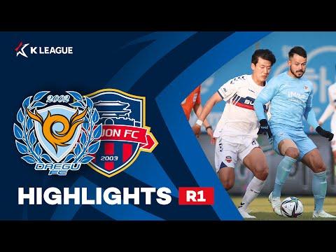 Daegu Suwon City Goals And Highlights