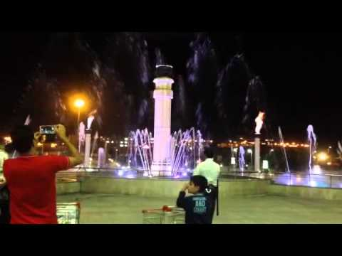 Khalij fars complex fountain , Iran shiraz