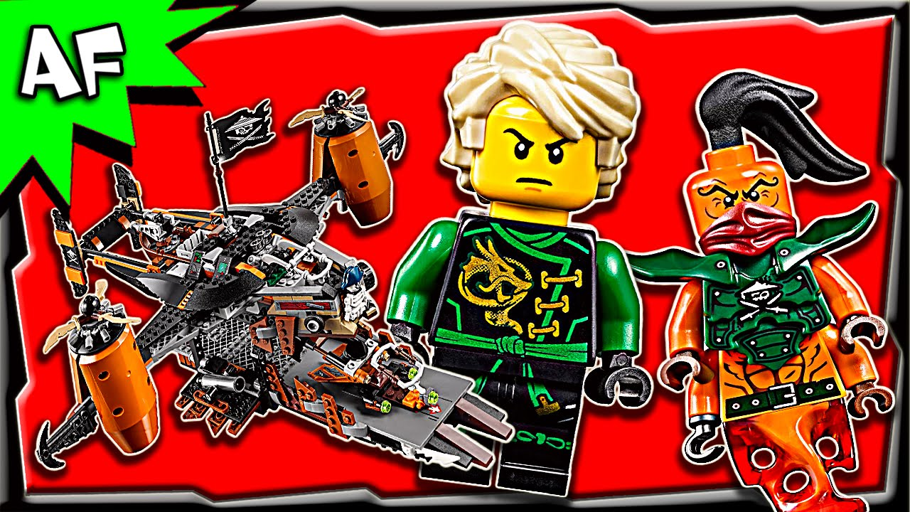 Lego Ninjago MISFORTUNES KEEP 70605 Stop Motion Build