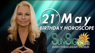 Birthday May 21st Horoscope Personality Zodiac Sign Gemini Astrology